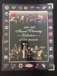 1994-1995 Kraft Awards Hockey Card Collection (great condition)