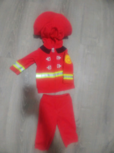 Firefighter Halloween Costume For Baby 6-9 Months
