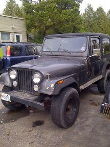 85 Jeep CJ7