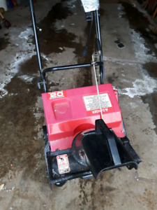 Snowblower- Murray 20 Inch Electric