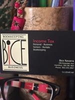 Tax Preparer and Bookkeeper - Hamilton