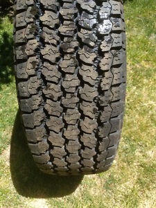1 GoodYear Wrangler never used 245/65/17 tire Kawartha Lakes Peterborough Area image 4