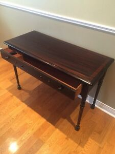 Antique Writing Desk / Table - Solid Mahogany