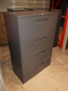 4 Drawer Filing Cabinet, Lateral