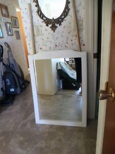 white dresser mirror for your daughters room