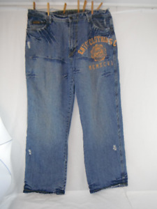 Enyce Mens Jeans size 42/32 Loose Baggy Fit