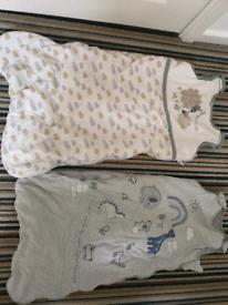 Baby sleeping bags 12-18 months 2.5 tog