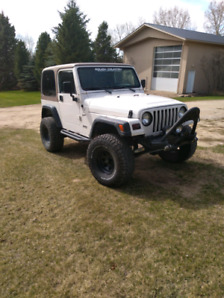 1999 Jeep TJ Sport with many upgrades FOR SALE for $5000