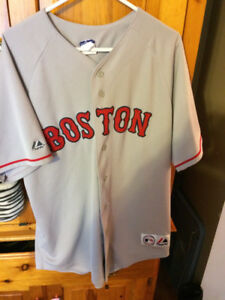 Vintage Baseball Majestic JASON BAY Boston Red Sox Jersey
