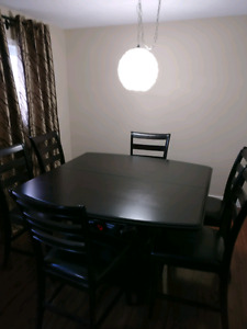 Bar Height Dining Room Table with 10 chairs