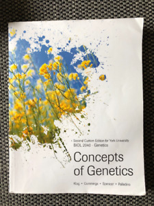 Concepts of Genetics York U