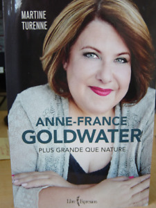 biographie Anne-France  goldwater