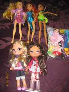 Barbies, Bratz