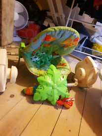Baby swing play chair