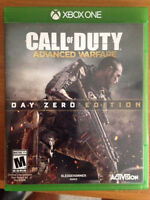 Xbox one call of duty advanced warfare day zero edition