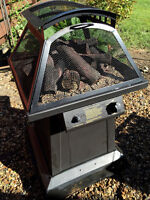 Propane fir pit tank and cover included