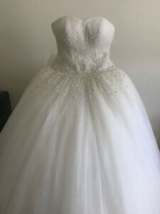 Wedding Dress - Bought new, used one time only