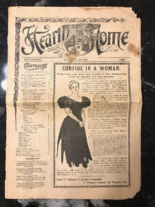 Hearth and Home, September 1898