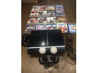 PS3 + PSP Go + PlayStation Move + 16 Games = Bargain !!