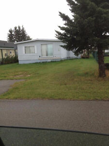 Rimbey 3 bedroom double wide mobile home for rent