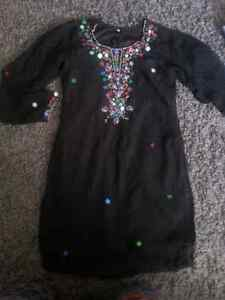 Ladies dress or long shirt size medium $10