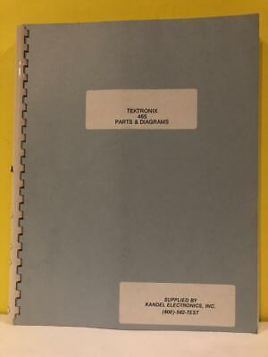 Tektronix 465 Parts Diagrams