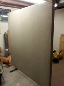 (3) room dividers/office partitions 75 each