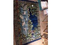 Rare vintage 1950s rugs mint unused condition
