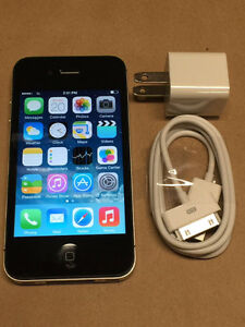 iPhone 4S, 16 GB. Black & in excellent condition. Asking $60 OBO Cornwall Ontario image 1
