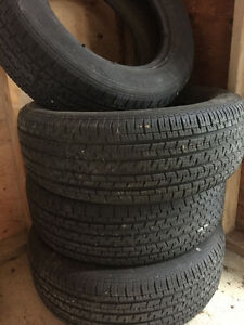 Uniroyal tiger paw M & S tires 225/60/R16