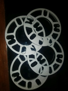 Wheel spacers 5mm 4 hole and 5 hole universal