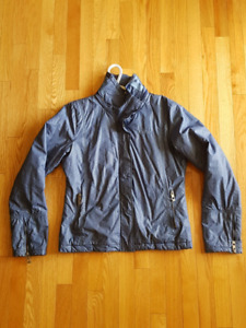 Baby Blue Ladies Large Bench Winter Jacket