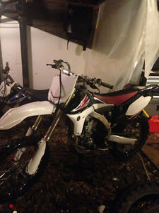 2010 yz 450f for sale or trade St. John's Newfoundland image 1