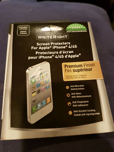 Screen protector iphone 4 & 4S