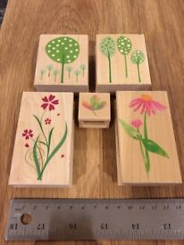Hero Arts Floral Rubber Stamps