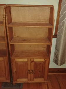 Mexican pine book cases