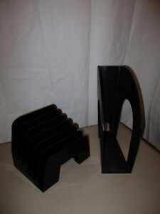 magazine rack and letter/stationery holder