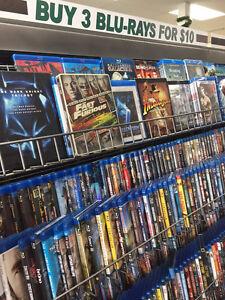 Blu Rays 4 for $10 Peterborough Peterborough Area image 1