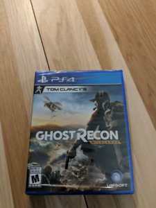 Ghost Recon Wildlands PS4 neuf et emballé