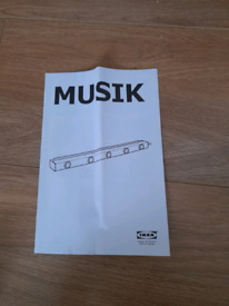 IKEA-musik wall light (PICK UP ONLY AND NO GUM TREE DELIVERY)
