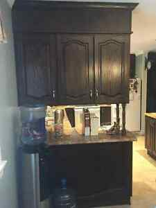 Solid Oak Kitchen Cabinets