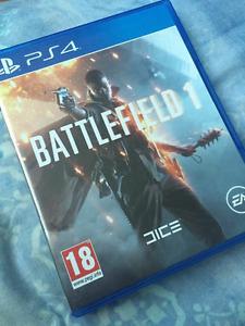 Selling PS4 Battlefield 1