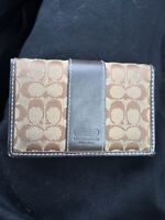 Authentic Coach Card Wallet