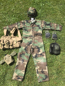 Kid's Soldier's Outfit
