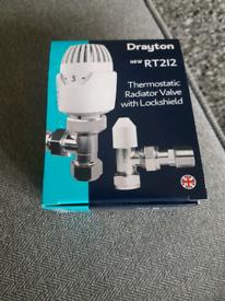 Drayton radiator valve