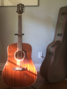 Guild Acoustic Dreadnought Guitar GAD-25 NAT