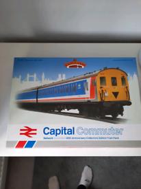 Bachmann Capital Commuter 00 gauge Model train set.