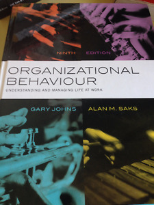 UW Psych 238: Organizational Behaviour Textbook