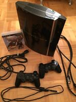 PS3 Console 160Gb +2 Controllers+Uncharted 3