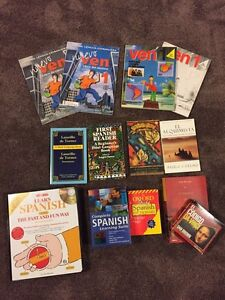 Learn Spanish! Variety of books and CDs etc to learn Español